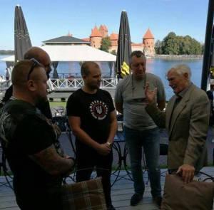 Представители ПС встретились с экс-президентом Литвы