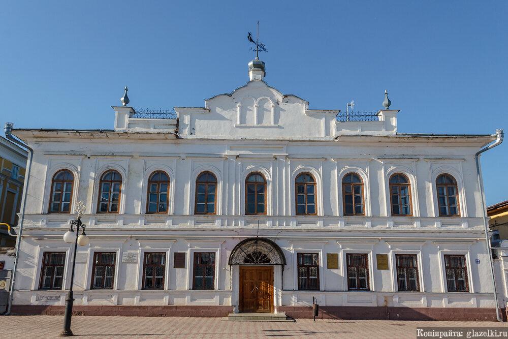 Елабуга, здании уездного училища.