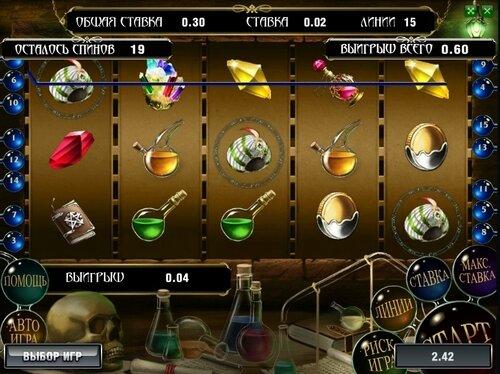 Игровой автомат The Alchemist – радость золотоискателям