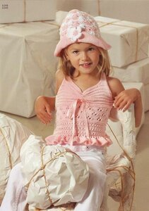 Летнее настроение - топ и шляпка для прекрасных леди!