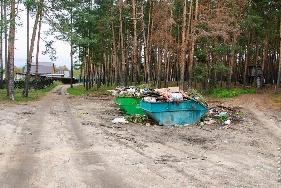 улица западная мусорка