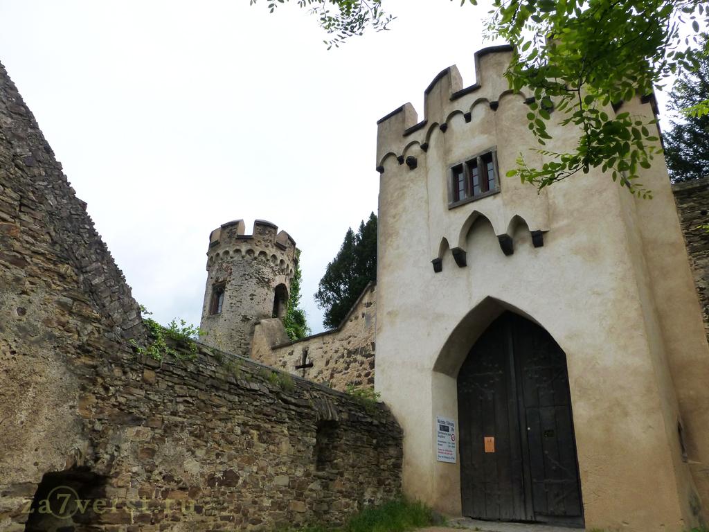 Замок Ланек, Германия