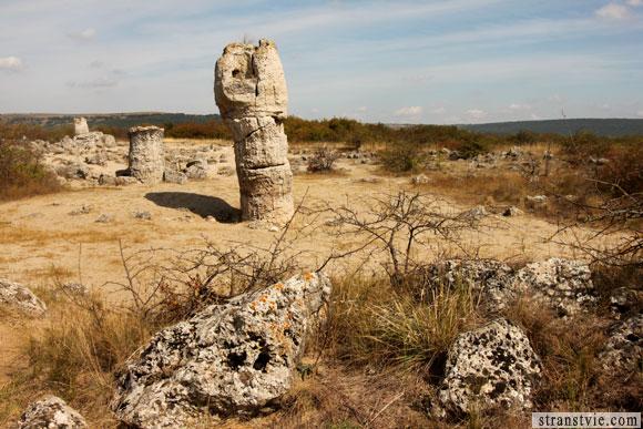 Версия происхождения вбитых камней