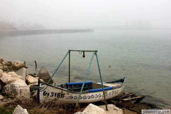 лодка в тумане