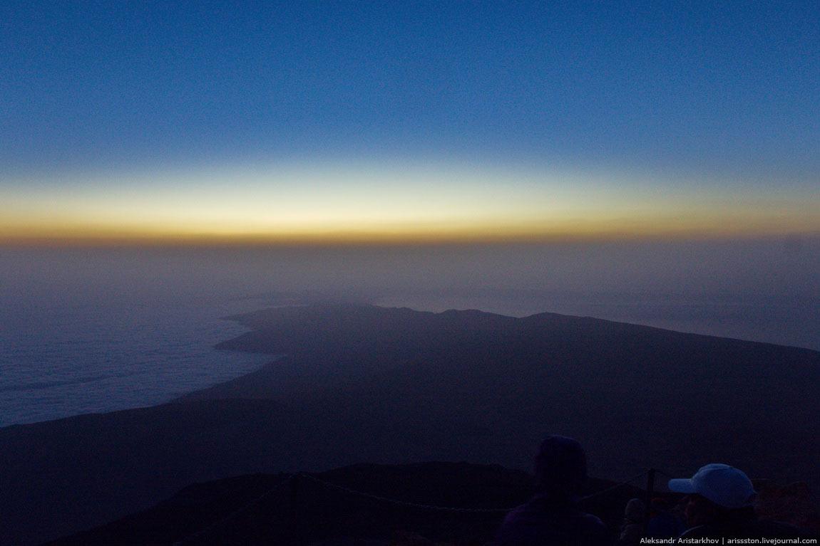 Тенерифе: Рассвет на вулкане