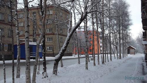 Фото города Инта №6297  Социалистическая 3, Мира 7, 4, 4а и Социалистическая 6 17.11.2013_12:25