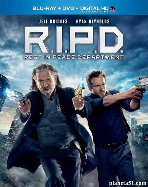 Призрачный патруль / R.I.P.D. (2013/BDRip/HDRip)
