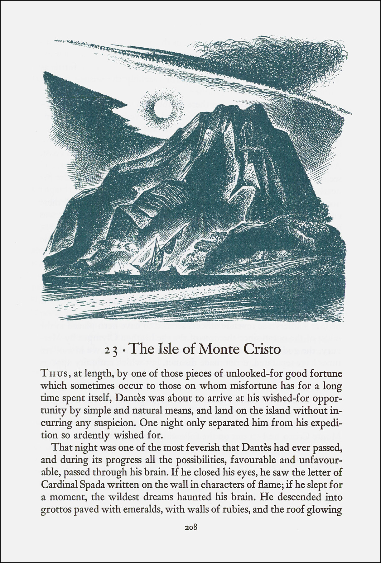 Lynd Ward, The Count of Monte-Cristo