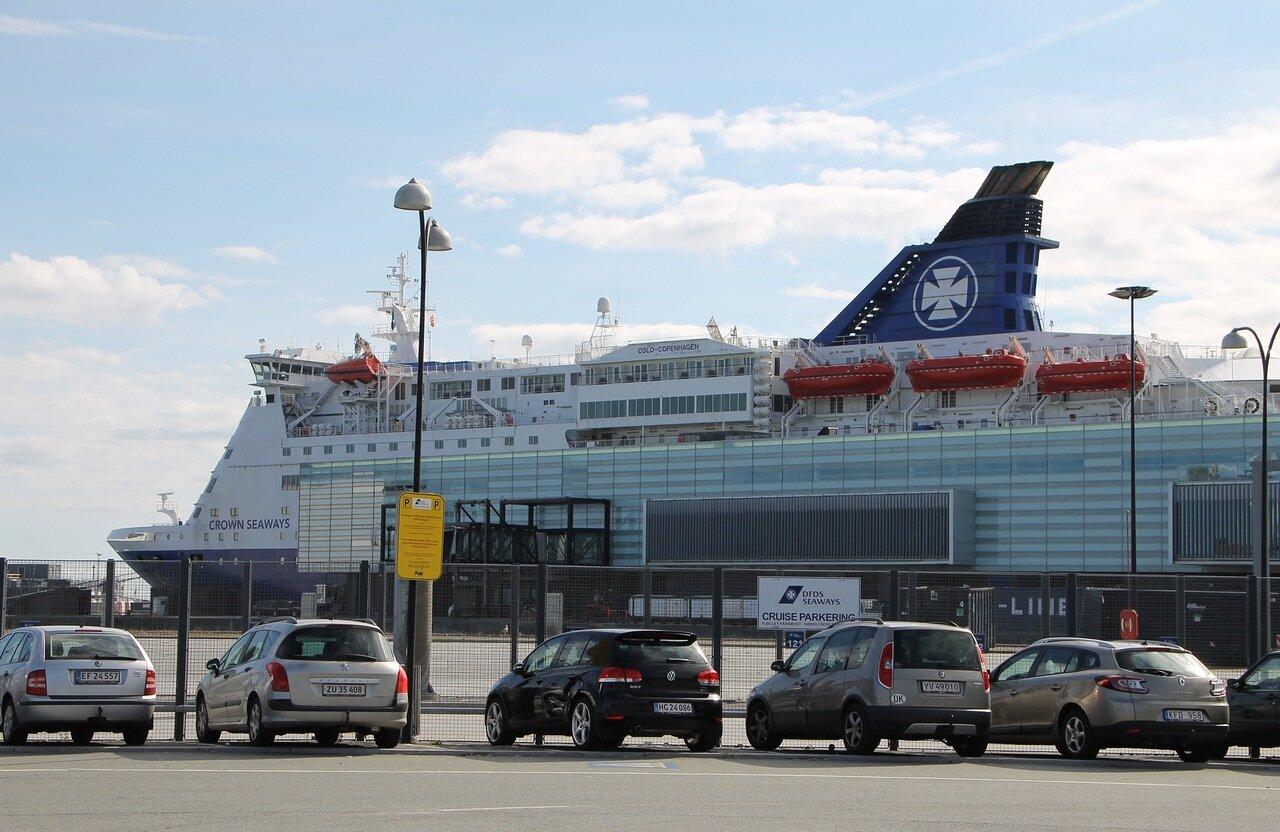 port of Copenhagen, Port Copenhagen, DFDS terminal, Crown Seaways ferry