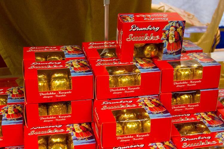 Магазинчик шоколада Brunberg.
