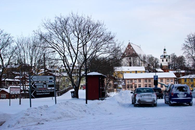Лютеранский кафедральный собор в Порвоо.