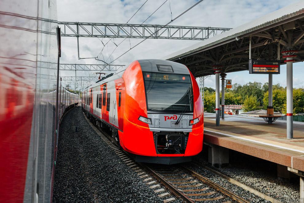 9. В поездах комфортные сиденья, есть крепления для велосипедов, туалеты (!!!), климат-контроль