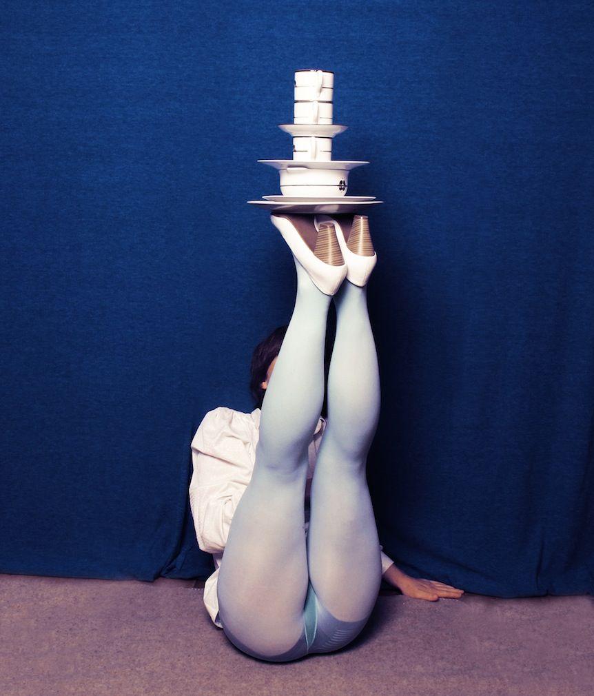 Неординарная серия фотографий Изабель Венцель