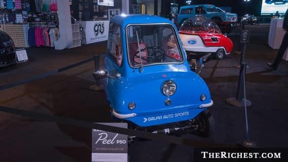 Brutsch Mopetta Эта машина на одного ездока была построена в Штутгарте специально к Международной вы