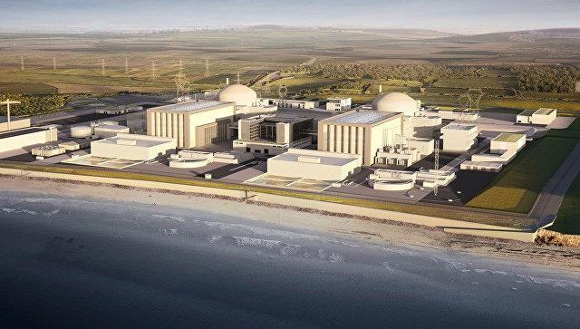 Руководство Англии одобрило проект EdF построительству АЭС Хинкли Пойнт