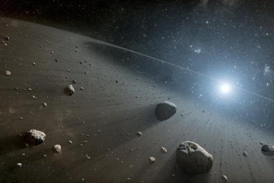 Раскрыта загадка колец астероидов-кентавров