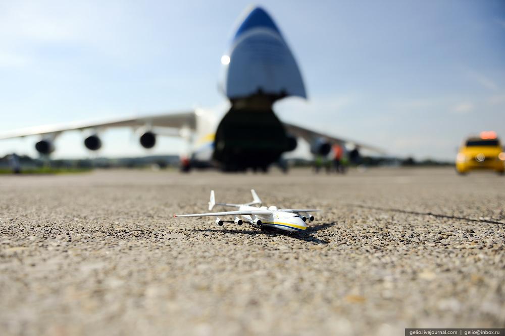 An-225 Mriya is the world's largest aircraft (English version): gelio ?