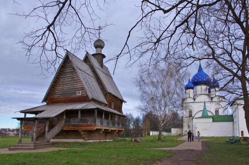 Никольская церковь и Рождественский собор