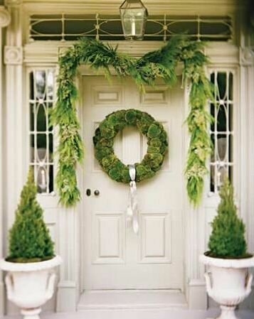 Новогодняя дверь