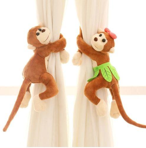 Подхваты для штор из мягких игрушек