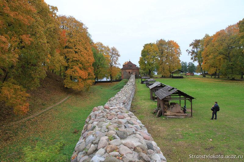 Литва, Тракай, полуостровной замок