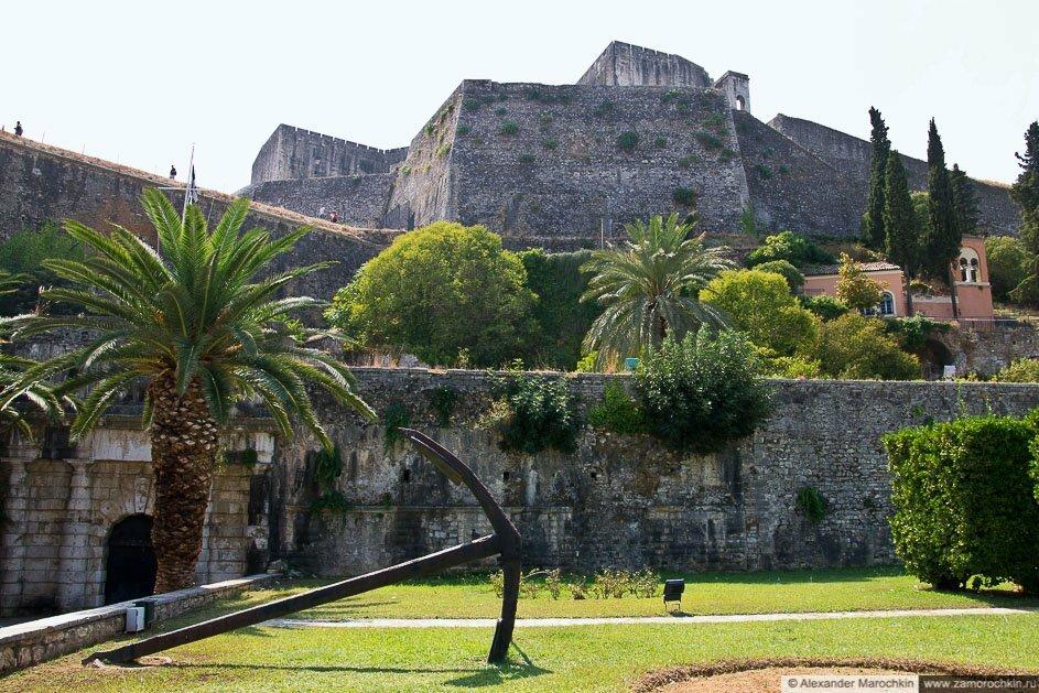 Новая крепость в Керкире, о. Корфу, Греция