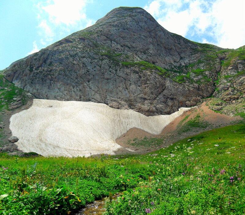 Кавказ, лето