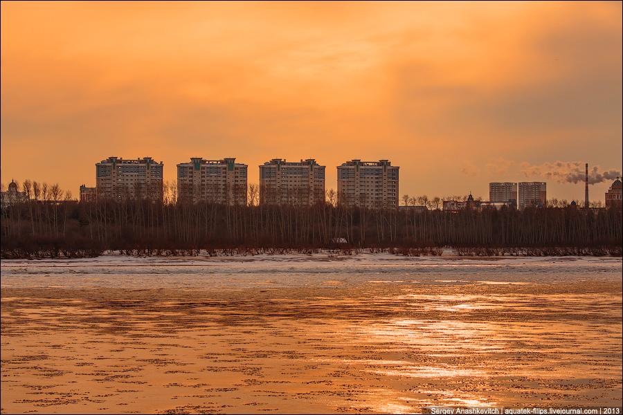 Закат над Китаем