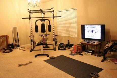 Создание домашнего спортзала