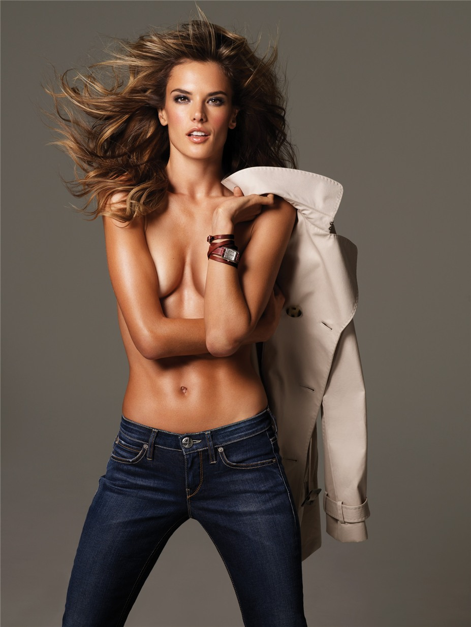 -Чудовище- и красавица Алессандра Амбросио / Alessandra Ambrosio by Stewart Shining in A Magazine Italy march 2010