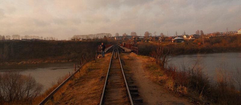 Перед мостом