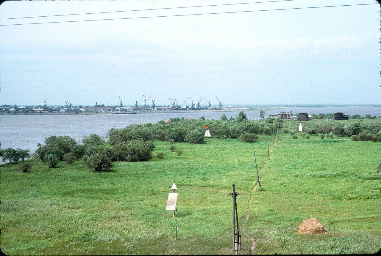 Река Амур возле Хабаровска