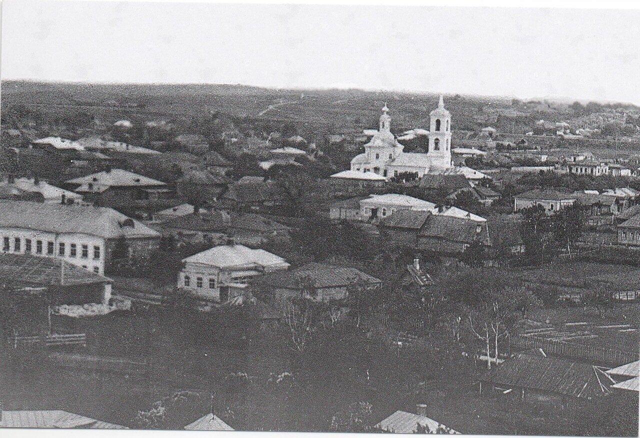 Вид южной части Можайска.