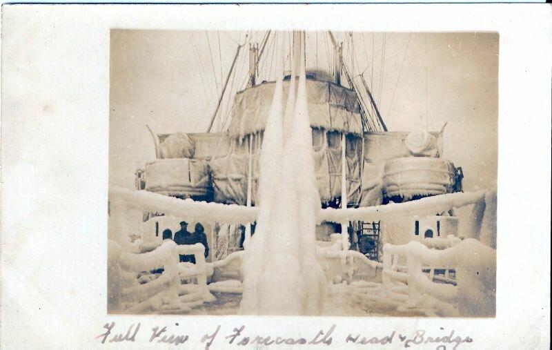 1917. 27 ноября. Обледенелый корабль.