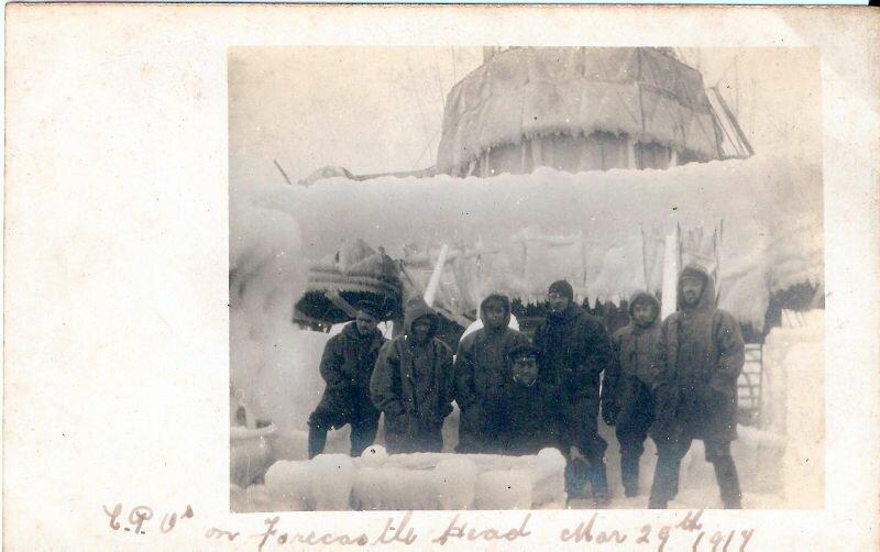 1917.29 марта.  На полубаке