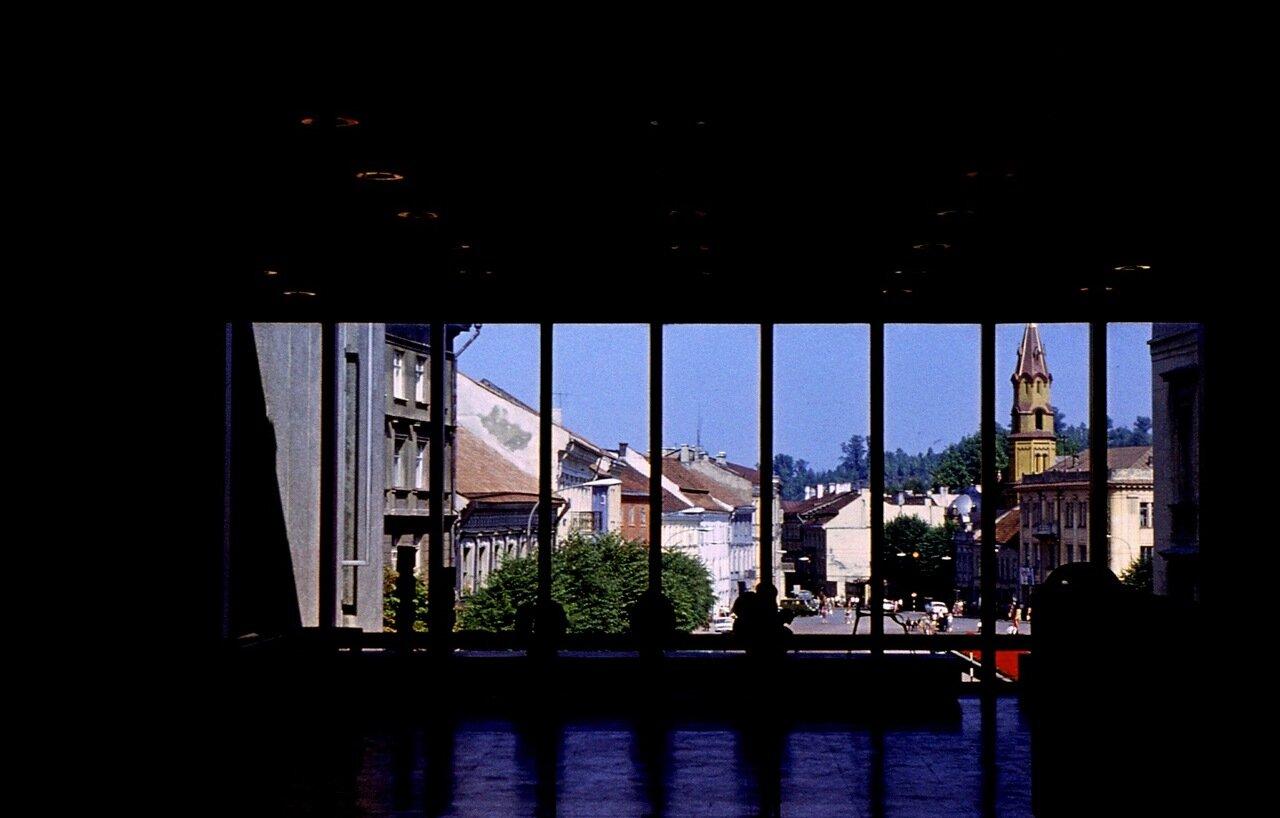 23. Вид на город из музея