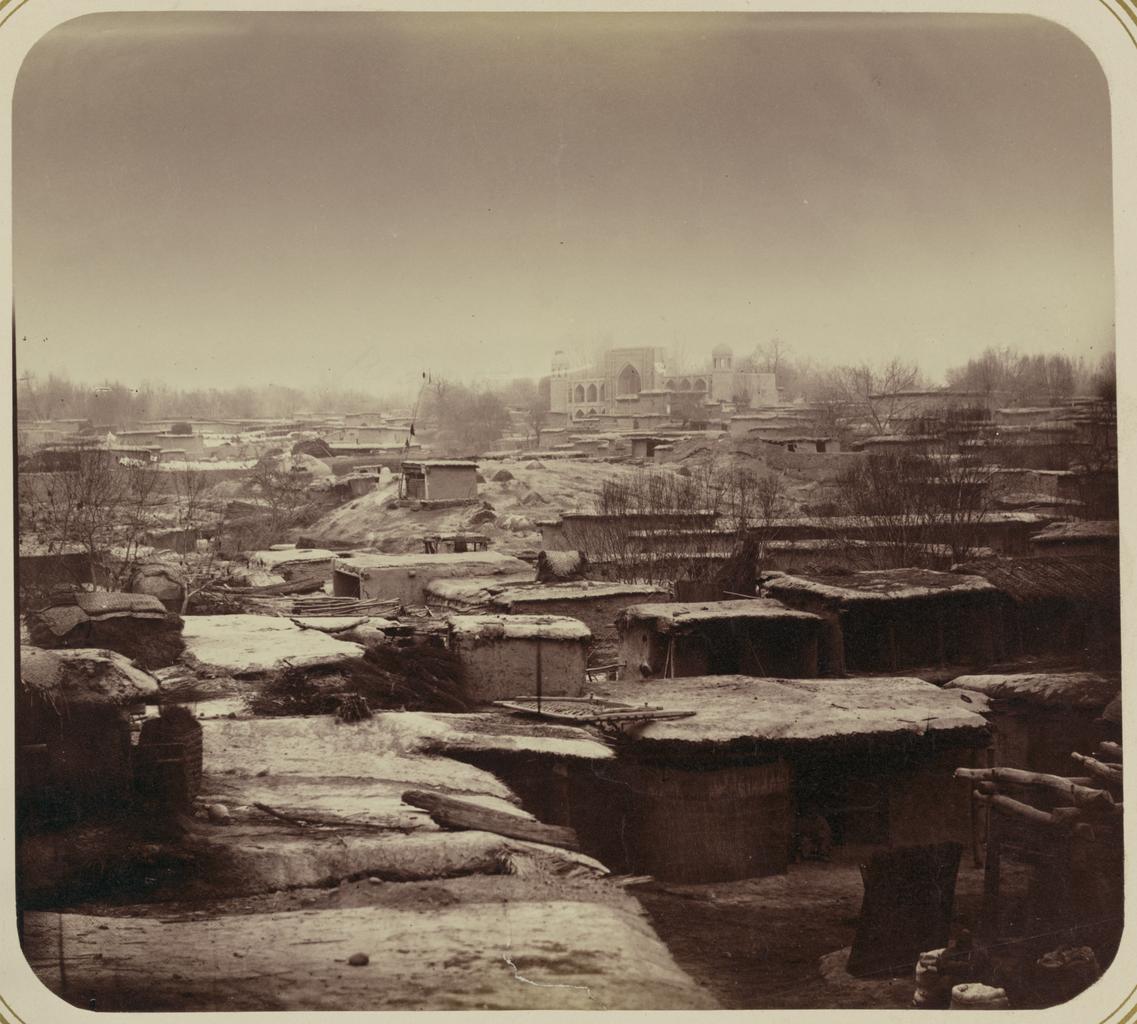 Часть города, прилегающая к медресе Бекляр-беги