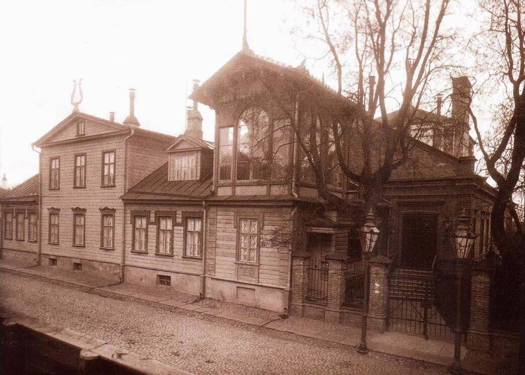 Театр. Карлова улица. 1904
