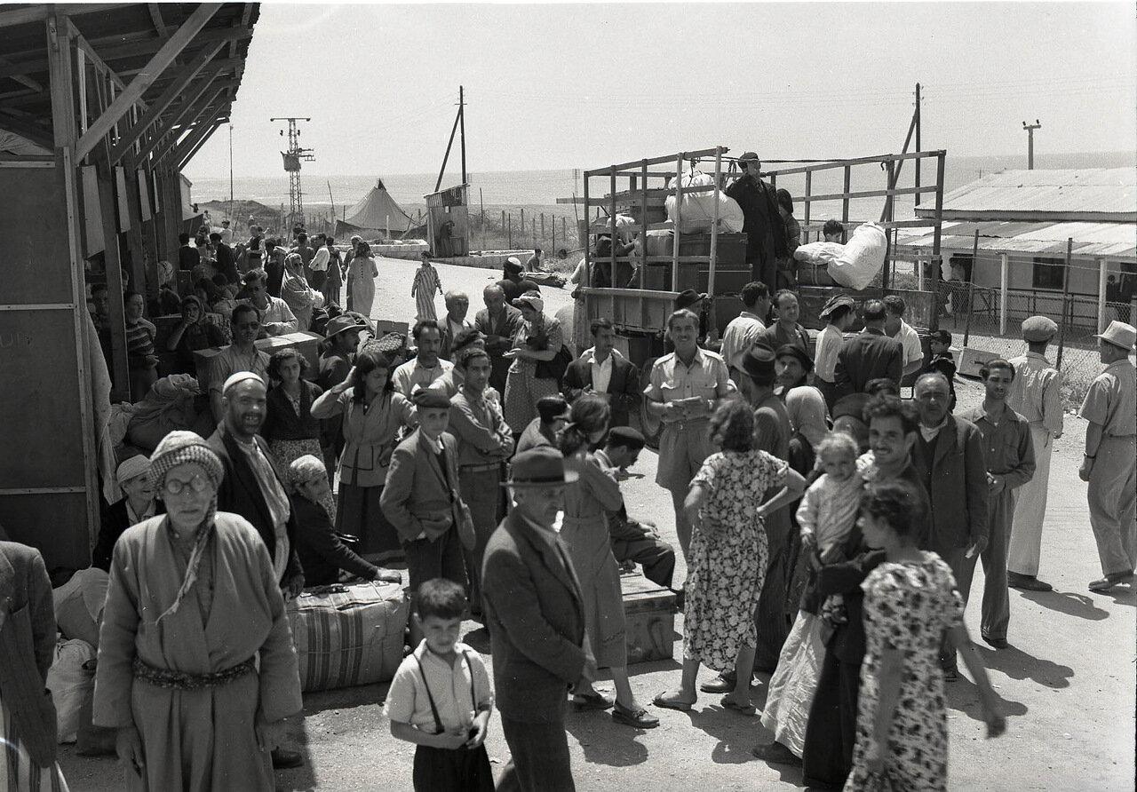 1951. Прибытие еврейских беженцев из Ирака