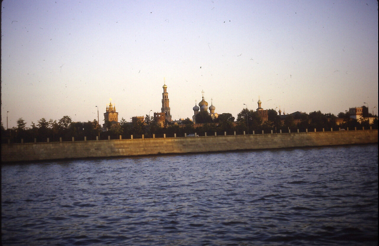 Novodevichy Monastery, Moscow, USSR