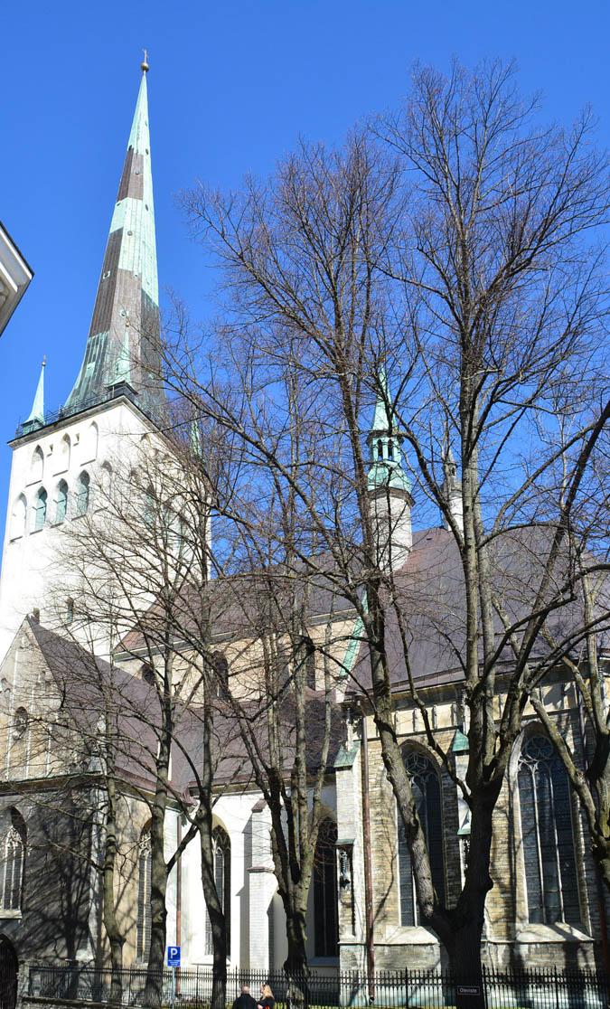 Церковь Олевисте, Таллин