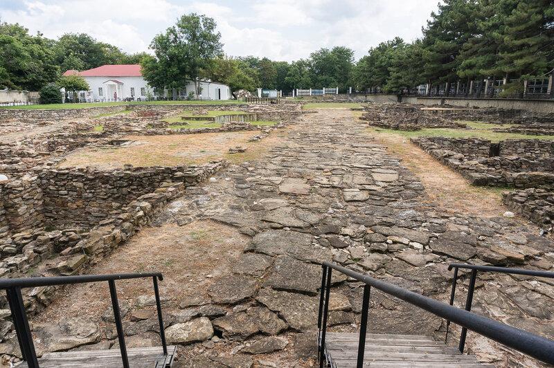 Главная магистраль античного города Горгиппия