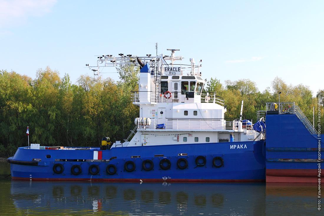 Дон. Буксир-толкач «Иракл» (2006 года постройки)