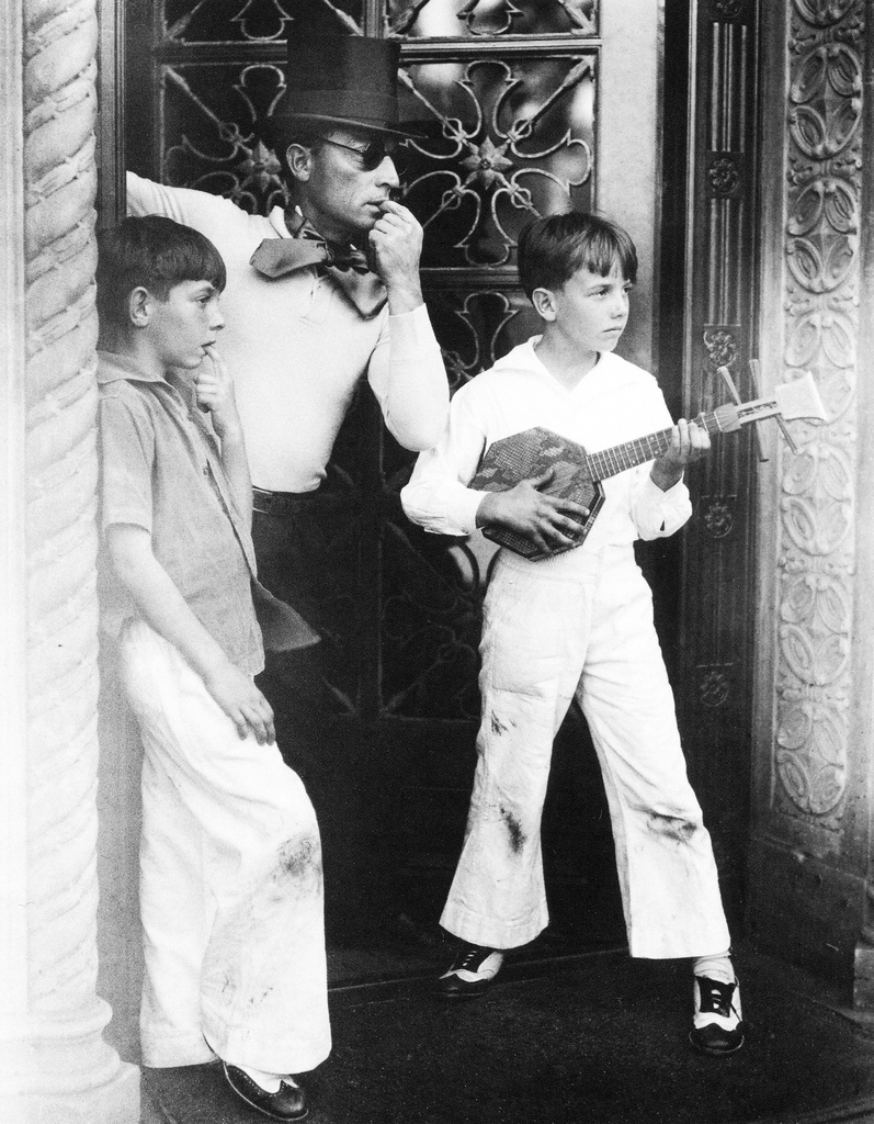 Buster Keaton and his sons.jpg