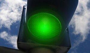 На одном из перекрестков Кишинёва светофор показывал все цвета