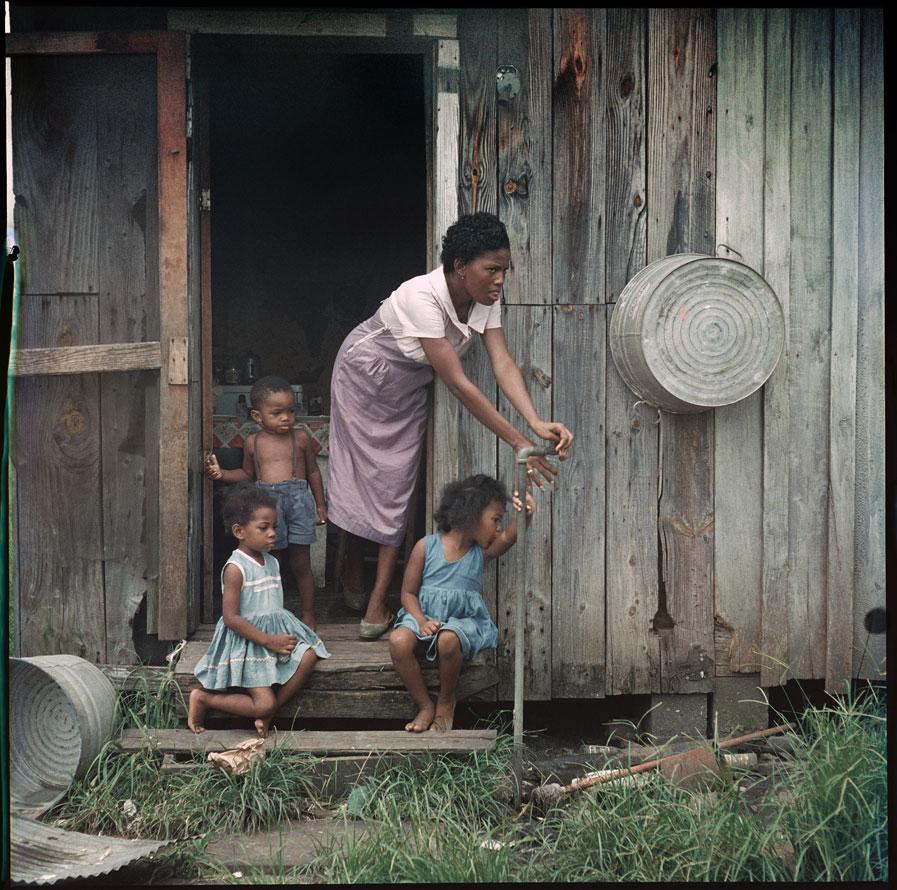 Город Мобил. Алабама.1956