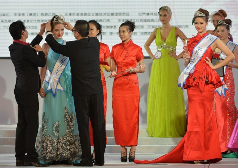 ENTERTAINMENT-CHINA-MODEL-AWARDS