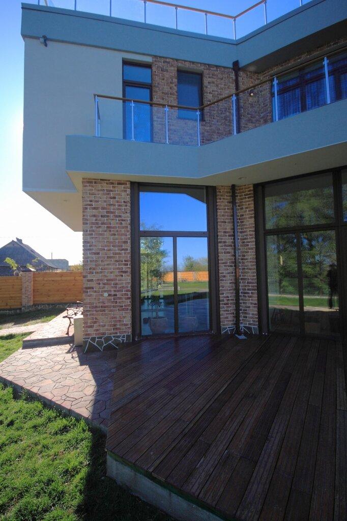 дом с плоской крышей, проект Эбро-400, реализация