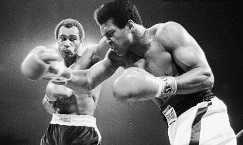 Али и Кен Нортон, сентябрь 1976