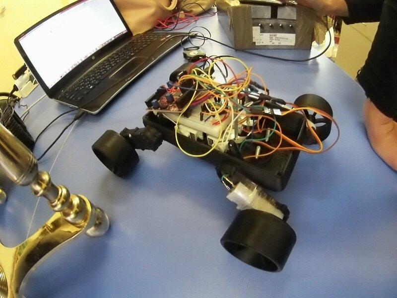 """Мастер класс """"Как сделать робота своими руками"""" для детей из детского дома """"Кораблик"""" Либежево Чкаловский р-н"""